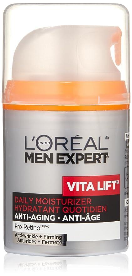 追い越す妻そこからMen's Expert L'Oreal Paris Vita Lift Anti-Wrinkle & Firming Moisturizer, 1.6 Ounces