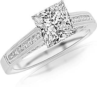 1.7 princess cut diamond