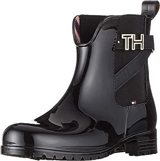 Tommy Hilfiger Kadın Th Hardware Rubber Bootie Moda Ayakkabılar