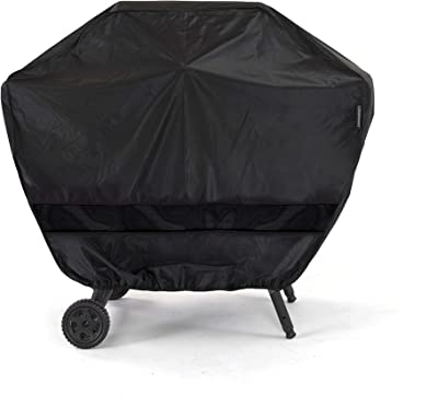 Grill Cover Double Play Protection Moisture Weather Shield PVC Polyester Blend