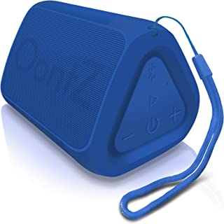 OontZ Angle Solo - Bluetooth Portable Speaker, Compact Size, Surprisingly Loud Volume & Bass, 100 Foot Wireless Range, IPX5, Perfect Travel Speaker, Bluetooth Speakers by Cambridge Sound Works (Blue)