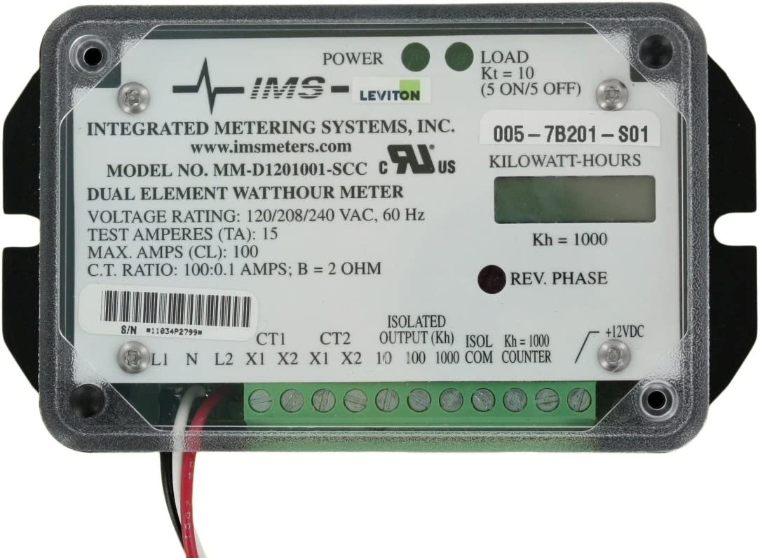 Leviton 7B201-S01 Dual Element Special price 2PH Individual Self- 120V 3W Bombing new work