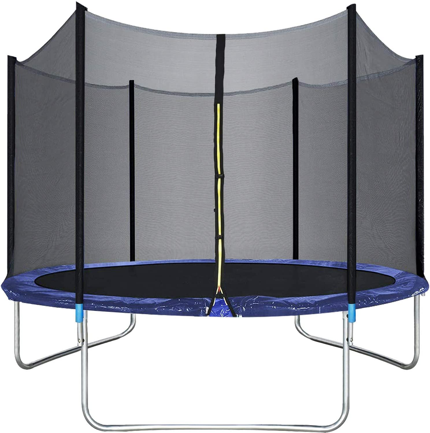10FT Trampoline with Safety Finally popular brand Enclosure Outd Bounce Net Charlotte Mall Combo Jump