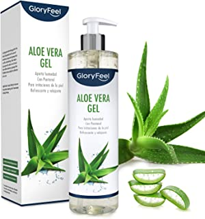 GloryFeel® Aloe Vera Gel 500ml - Cultivo controlado 100%