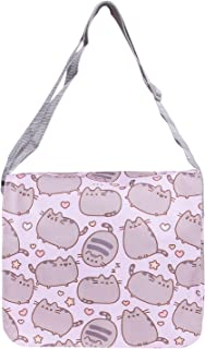 Pusheen The Cat Messenger Cross Body Shoulder Bag (Purple)