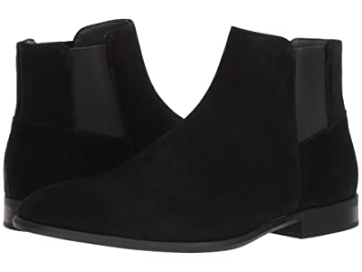 Calvin Klein Larry (Black Calf Suede) Men