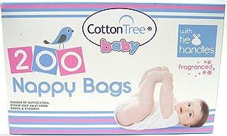 comprar comparacion Cotton Tree - Bolsas desechables para pañales, 200 bolsas
