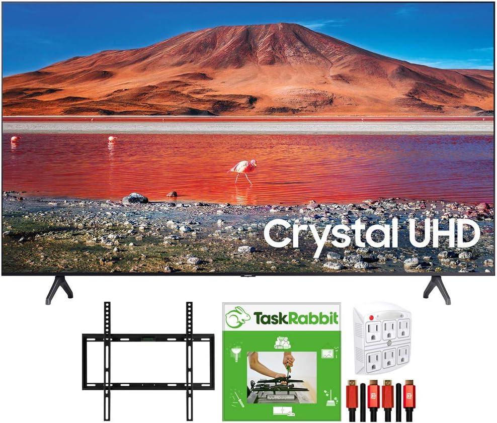Samsung UN75TU7000 75-inch 4K Ultra HD 2020 Max 88% OFF Model TV Max 48% OFF LED Smart