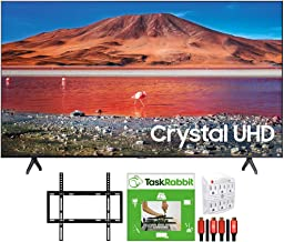 Samsung UN58TU7000 58-inch 4K Ultra HD Smart LED TV (2020 Model) 360 Design Bundle with TaskRabbit Installation Services +...