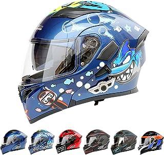 <h2>C-TK Motorradhelm Bluetooth-Integration Modularer Motorradhelm Crosshelm für Kinder Motocross-Helm - Navigationsgerät/Telefon/Musik verbinden</h2>