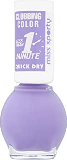 Miss Sporty Clubbing Colours Quick Dry Nail Polish, 7 ml, Lilac