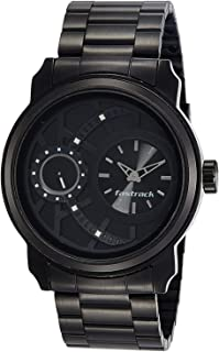 Fastrack Casual Watch for Men, Analog, Metal, 3147KM01