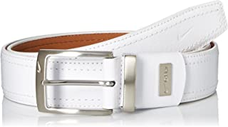 Nike Men's G-flex Pebble Grain Leather Belt
