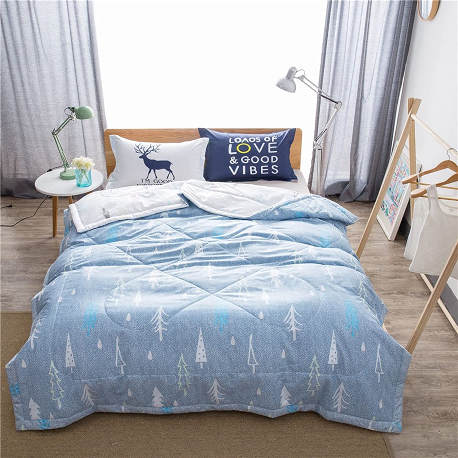 Uther King Summer Quilt Reversible Comforter Duvet The Alternative Thin Comforter Pine Design