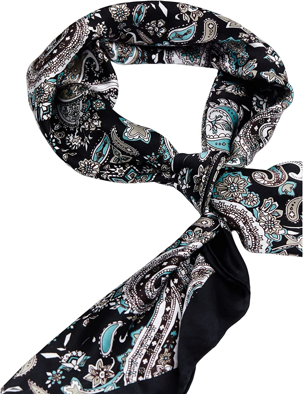 Cody James Men's Silk Navy Paisley Wild Rag Scarf Navy One Size