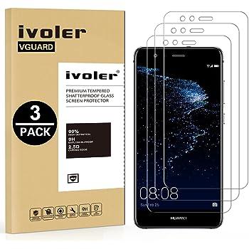 ivoler [3 Unidades] Protector de Pantalla para Huawei P10 Lite ...
