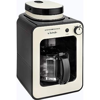 Team Kalorik Cafetera 2-en-1 con capacidad 0.6 L, Jarra de vidrio ...