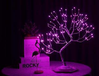 "Copper Wire Tree Branch LED Lights, 8 Modes 20""/50cm 108L LED Christmas Desk Tree Lights Room Decor, for Home/Wedding/Part..."
