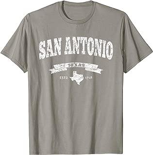 Vintage San Antonio Shirt Distressed Tee - TX Alamo City