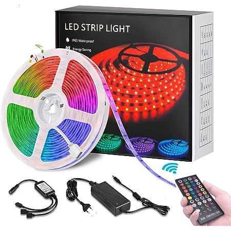 Bluetooth LED Band mit App Party und Feriendekoration JESLED 15m RGB LED Streifen Lichtband Anwendung f/ür Schlafzimmer RF Fernbedienung LED Strip Lichterkette mit Musik