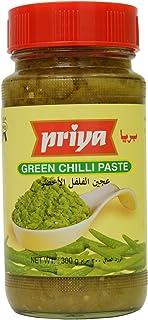 PRIYA FOODS Green Chilli Paste, 300 gm