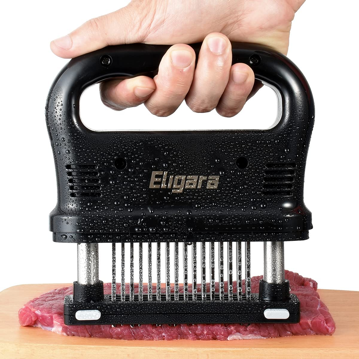 Max 71% OFF Eligara Wholesale Meat Tenderizer with 48 Ste Blade Stainless Steel Needle
