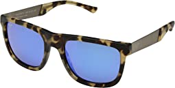 Matte Tortoise/Blue Hawaii