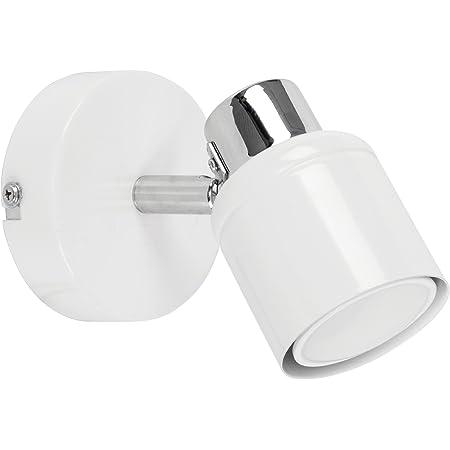MiniSun Applique Murale Finition - Blanc Brillant. Tête Orientable