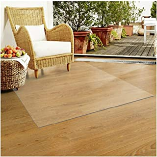 Chair Mat for Hardwood Floor Clear Table Covers PVC Rug Protection Plastic Carpet Floor Mat Protector for Dining Room Hard...