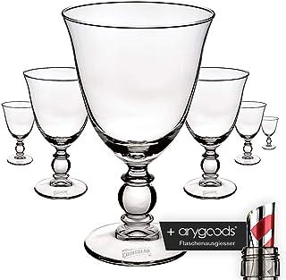 6 x Cointreau Glas Gläser Cocktail Likör Edel Design Gastro Bar NEU  anygoods Flaschenausgiesser