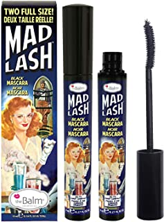 Mad Lash Mascara, black, Water-resistant, Smudge-Proof, Cruelty-Free, 0.27 Oz - 2 Pack