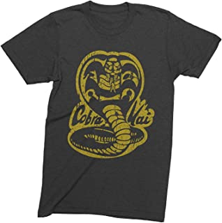 Cobra Kai Vintage Tri-Blend Shirt, Kobra Kai 80s Karate Kid Short Sleeve Retro Shirt