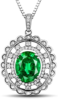 uncut diamond emerald necklace