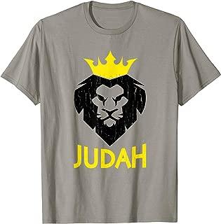 Hebrew Israelite T Shirt Lion of Judah Yah