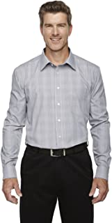 Devon & Jones DG520 Mens Crown Collection Glen Plaid Shirt