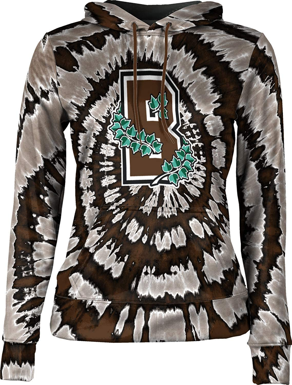 ProSphere Brown University Girls' Pullover Hoodie, School Spirit Sweatshirt (Tie Dye)