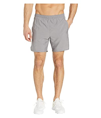 Nike Challenger Shorts 7 2-in-1 (Gunsmoke/Gunsmoke/Heather/Reflective Silver) Men