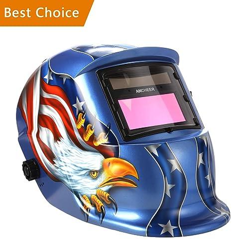 Coocheer Solar Arc Tig Mig Auto-Darkening Welding Helmet/Hood MIG TIG ARC Professional