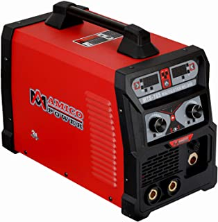 MTS-165, 165-Amp MIG/TIG-Torch/Stick Arc Combo Welder, Weld Aluminum(MIG) 110/230V Dual Voltage Welding