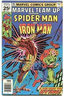 Marvel Team Up 48 Fine Spiderman Iron Man Marvel Comics CBX22