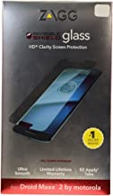 Brand New Oem Zagg invisibleSHIELD Tempered Glass Screen Protector for Verizon Motorola Droid Maxx 2 XT1565 Retail Package
