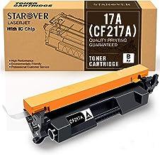 STAROVER Cartucho de Tóner Compatible Reemplazo para HP 17A CF217A para HP Laserjet Pro M102w M102a MFP M130nw MFP M130fw MFP M130fn MFP M130a Impresora (1 Negro)