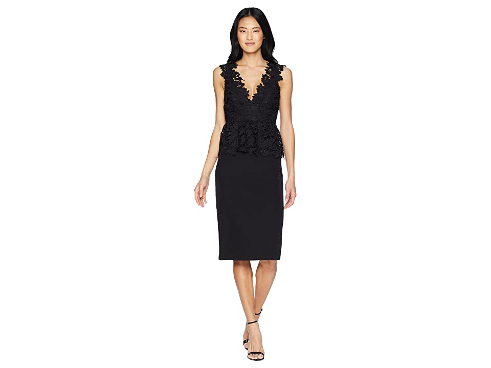 Bardot Valencia Lace Dress (Black) Women
