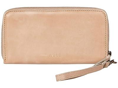ABLE Alem Continental Wallet (Fog) Wallet Handbags