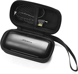 CoWalkers Protective case for Bose SoundSport Free Truly Wireless Bluetooth Headphones Charging Box, Mesh Pocket for Cable...