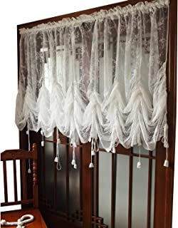 simply shabby chic balloon curtains