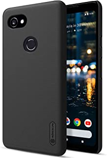 Nillkin Frosted Shield - Super Lightweight Protective Rear Housing Anti-Slip Cover, Anti-Scratch Case + Free Gift For Google Pixel 2 XL - Black