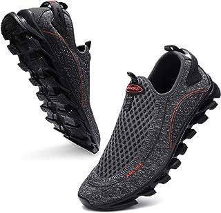 حذاء رياضي رجالي رياضي مضاد للانزلاق من ANLUKE مناسب لرياضة الجمنازيوم والتنس والمشي