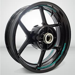 Matte Turquoise Motorcycle Inner Rim Tape Sticker Decal for Honda VFR 1200X Crosstourer