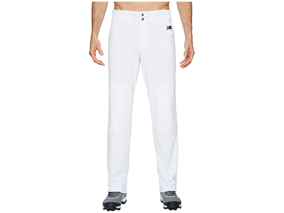 New Balance Charge Pants (Solid White) Men